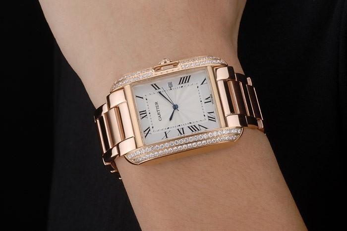 80180 Reloj de la reproducción Cartier de lujo